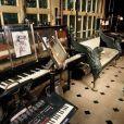 La maison de Serge Gainsbourg au 5 bis de la rue de Verneuil à Paris, France.