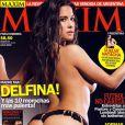 Delfina Gerez Bosco en couverture de Maxim