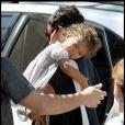 Halle Berry emmène sa fille Nahla à un anniversaire le 20 septembre 2009 à Los Angeles
