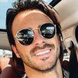 Benjamin Samat souriant à Marseille, le 10 août 2020