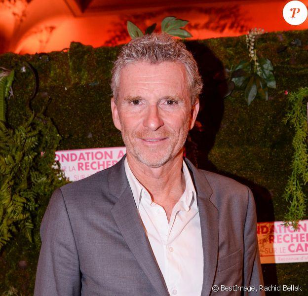Denis Brogniart - Dîner de la Fondation ARC au Pavillon Cambon-Capucines à Paris, en octobre 2019. © Rachid Bellak / Bestimage