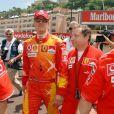 Michael Schumacher et Jean Todt à Monaco. Mai 2006.