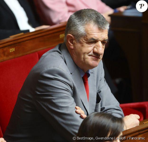 Jean Lassalle - Séance de questions au gouvernement à l'Assemblée Nationale à Paris. © Gwendoline Le Goff / Panoramic / Bestimage