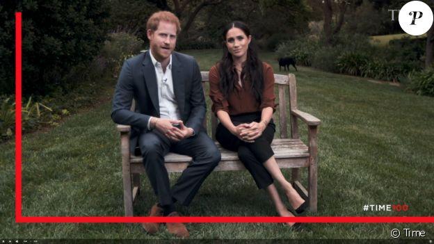 """Le prince Harry et Meghan Markle appellent les Américains à voter lors des prochaines élections présidentielles du 3 novembre 2020 aux Etats-Unis. Le 22 septembre 2020 pour """"Time Magazine""""."""
