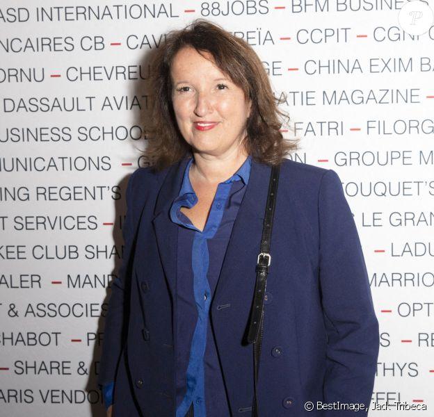 Anne Roumanoff assiste au déjeuner du Chinese Business Club au Westin Paris, en l'honneur d'Alexandre Arnault (CEO de Rimowa groupe LVMH). Paris, le 22 septembre 2020. © Jack Tribeca / Bestimage