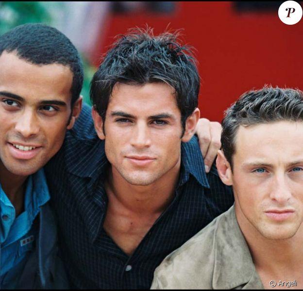 Frank, Adel et Filip... Les 2be3 en 1997 !