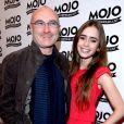 Phil Collins et sa fille Lily le 16 juin 2008.