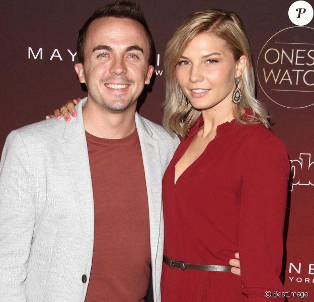 Frankie Muniz et sa compagne Paige Price à la soirée 'One's to Watch' à NeueHouse à Hollywood.