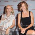 Hilary Swank et Franca Sozzani