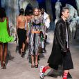 Défilé Versace collection printemps-été 2021 lors de la Fashion Week de Milan, le 25 septembre 2020.