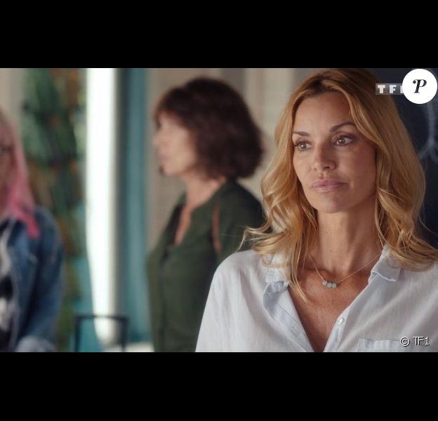 """Ingrid Chauvin dans la série """"Demain nous appartient"""" sur TF1."""