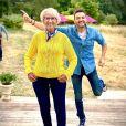 """Cyril Lignac et Mercotte de retour sur le tournage du """"Meilleur Pâtissier"""" pour la saison 9, le 30 juin 2020"""