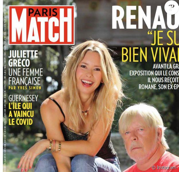Une de Paris Match.