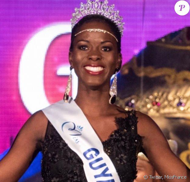 Dariana Abé, Miss Guyane 2019, se présentera à l'élection de Miss France 2020