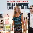 David et Cathy Guetta à Ibiza, en 2012