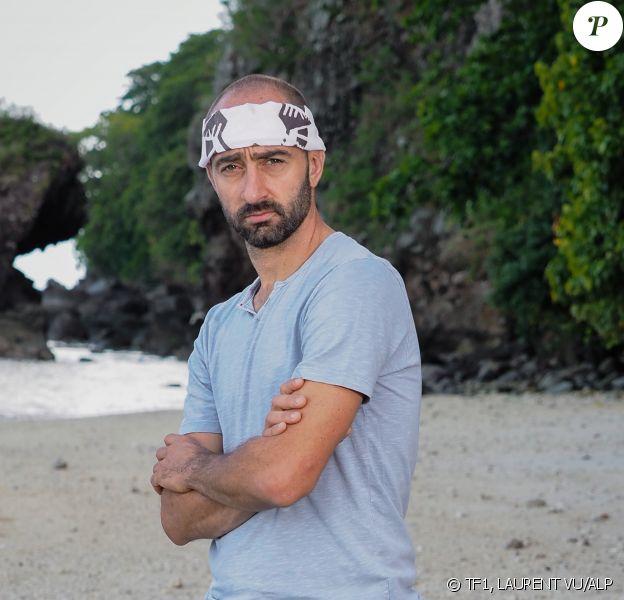"""Sébastien, candidat de """"Koh-Lanta, Les 4 Terres"""", photo officielle"""
