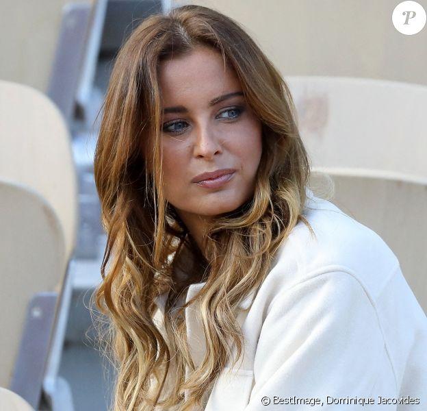 Malika Ménard à Roland Garros à Paris. © Dominique Jacovides / Bestimage