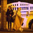 Exclusif - Affaire Xavier Dupont de Ligonnes - La police judiciaire et scientifique au domicile de Guy Joao à Limay dans les Yvelines en train de faire des prélèvements. LImay le 11 octobre 2019