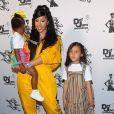 """Exclusif - Cardi B et sa fille Kulture assistent à la soirée exclusive de Teyana Taylor pour la sortie de son nouvel album intitulé """"The Album"""". Le père de sa fille, Offset est arrivé plus tard et ils ont passé la soirée ensemble en famille. Los Angeles, le 17 juin 2020."""
