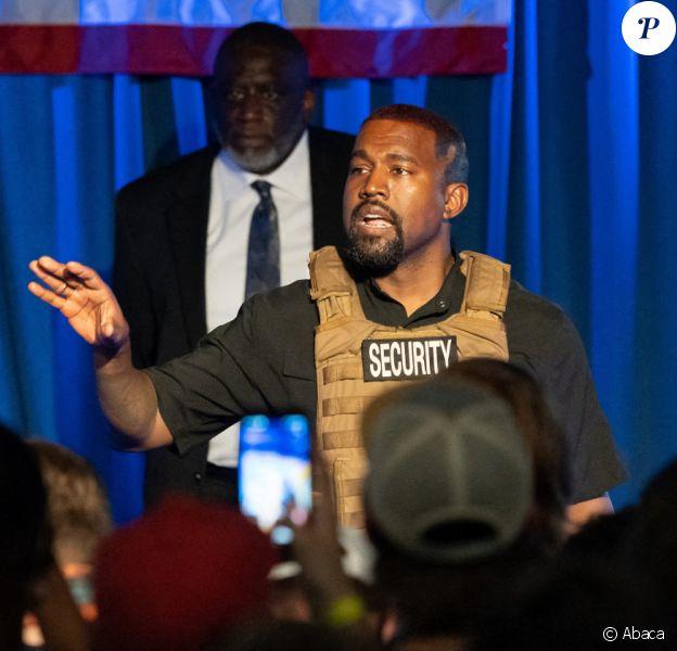 Kanye West craque, été 2020.