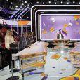 Exclusif - Cyril Hanouna sur le plateau de l'émission TPMP (Touche pas à mon post) en direct sur C8 le 1er octobre 2020. © Jack Tribeca / Bestimage