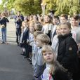 Brigitte Macron à Riga le 30 septembre 2020