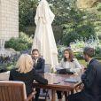 Brigitte Macron en rendez-vous avec Omar Didi, président du Mouvement d'affirmation des jeunes LGBT, et Jade Habran, vice-présidente