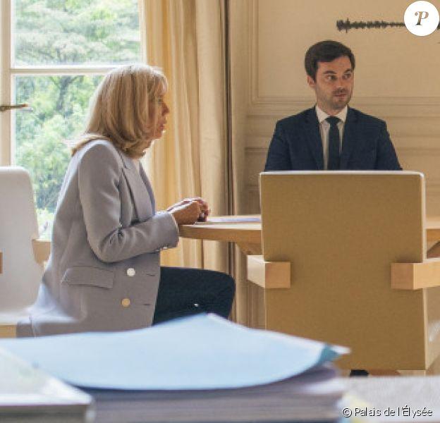 Brigitte Macron en rendez-vous avec le professeur Amine Benyamina, psychiatre-addictologue