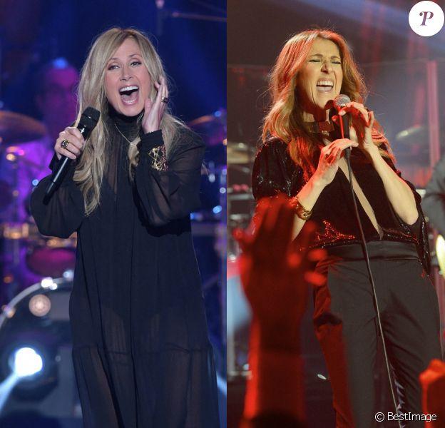 Lara Fabian vs Céline Dion. Deux divas, deux carrières différentes.