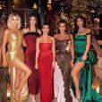 Khloé Kardashian, Kendall Jenner, Kourtney Kardashian, Kim Kardashian et Kylie Jenner ont assisté à la soirée du réveillon de Noël des Kardashian, chez Kourtney Kardashian.