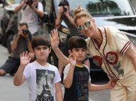 Céline Dion : Rare photo avec ses jumeaux Nelson et Eddy, qui ont bien grandi !