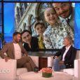 """David Beckham sur le plateau de l'émission """"The Ellen Show"""" à Los Angeles, le 4 mars 2020."""