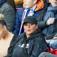 Sarah Fraisou - People dans les tribunes du parc des princes lors du match de championnat de Ligue 1 Conforama opposant le Paris Saint-Germain (PSG) à Lille le 22 Novembre 2019 à Paris ©
