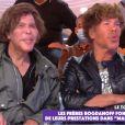 """Les frères Bogdanov dans """"Touche pas à mon poste"""", le 26 octobre 2020, sur C8"""