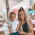 Jessica Thivenin avec son fils Maylone sur Instagram