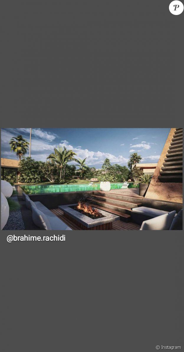 Villa Benda, la maison que Vitaa se fait construire à Marrakech, au Maroc.