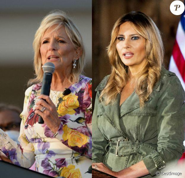 Jill Biden et Melania Trump, deux styles, deux approches de la mode.