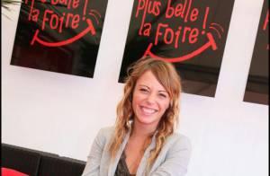Plus Belle La Vie : Dounia Coesens, Franck Borde et Cécile Auclert ont fait... la Foire !