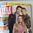 """Emma Smet en couverture de """"Télé Poche"""", numéro pour les programmes du 14 au 20 novembre 2020."""