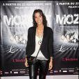 Générale de presse de Mozart, l'opéra rock, le 1er octobre 2009 au Palais des Sports de Paris : Laurie Cholewa