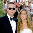Jennifer Aniston et Brad Pitt aux Emmy Awards, le 19 septembre 2004