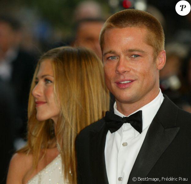 Archives - Brad Pitt et  Jennifer Aniston lors du 57ème Festival International du Film de Cannes. © Frédéric Piau/Bestimage