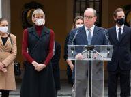 Charlene de Monaco solennelle : look d'automne moderne au côté d'Albert