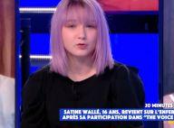 """Satine (The Voice Kids ) frappée à l'école : """"Je pensais qu'ils allaient me tuer"""""""