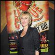 """Sophie Mounicot est à Bobino pour voir """"La Clique"""". 05/10/09"""