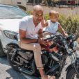 """Le compagnon de Marilou de """"10 Couples parfaits"""" et son fils, photo Instagram du 22 juin 2020"""