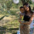 """Marilou de """"10 Couples parfaits"""" et son fils Malone, le 21 juin 2020"""