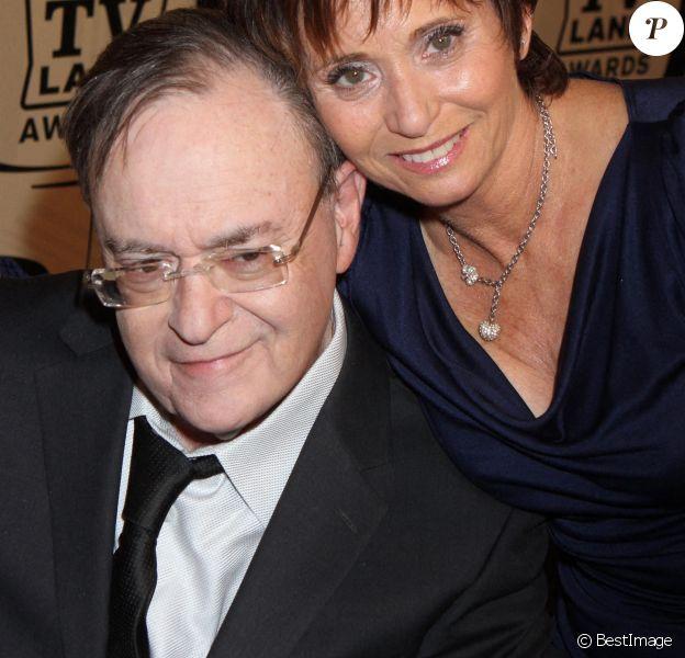"""David Lander de """"Laverne et Shirley"""" et sa femme Kathy Fields arrivent à la 10ème édition des TV Land Awards au Lexington Avenue Armory à New York"""