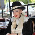 Exclusif - Geneviève de Fontenay - Déjeuner à la brasserie Les Fontaines à Paris. Le 9 juillet 2020 © Baldini / Bestimage