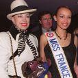Geneviève de Fontenay, Sonia Rollan, dAVE, Anniversaire Eddie Barclay à Paris
